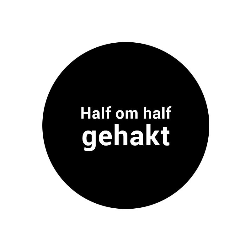 half-om-half-gehakt